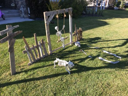 DIY Halloween Yard Decor