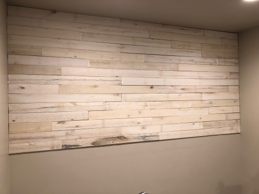 Wood Plank Wall Tutorial