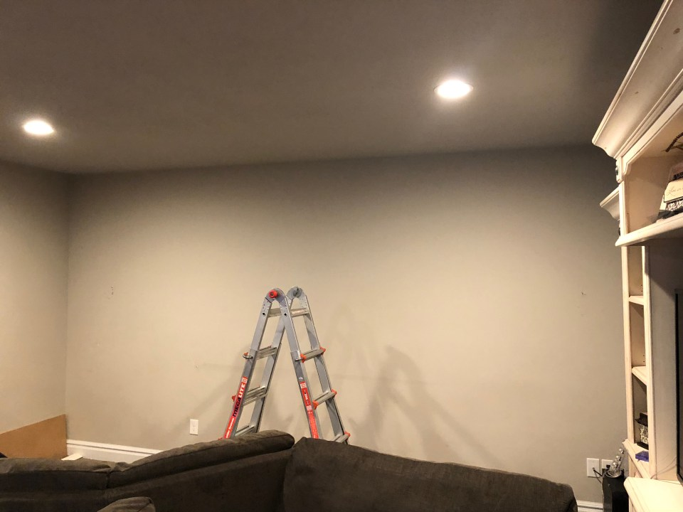 Basement Accent Wall Project