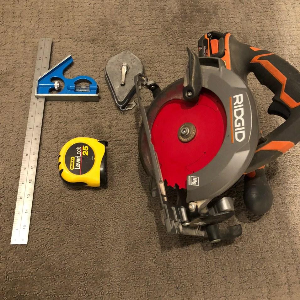 Tools Needed