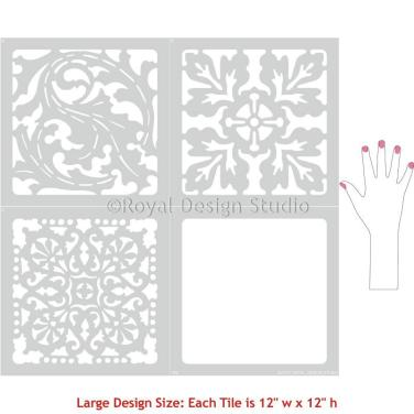 large_classic_european_style_tile_stencils_flooring