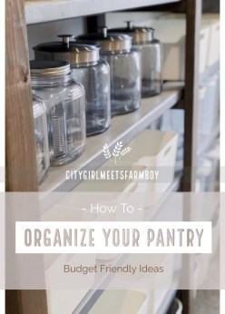 Organize your pantry using Container Store