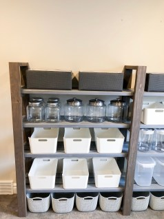 Organize your pantry using Container Store Products