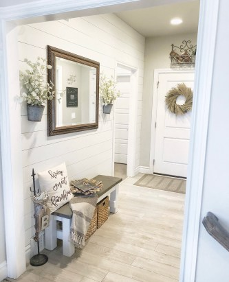 Shiplap entry way