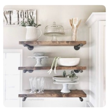 Do It Yourself Plumbers Pipe Shelving