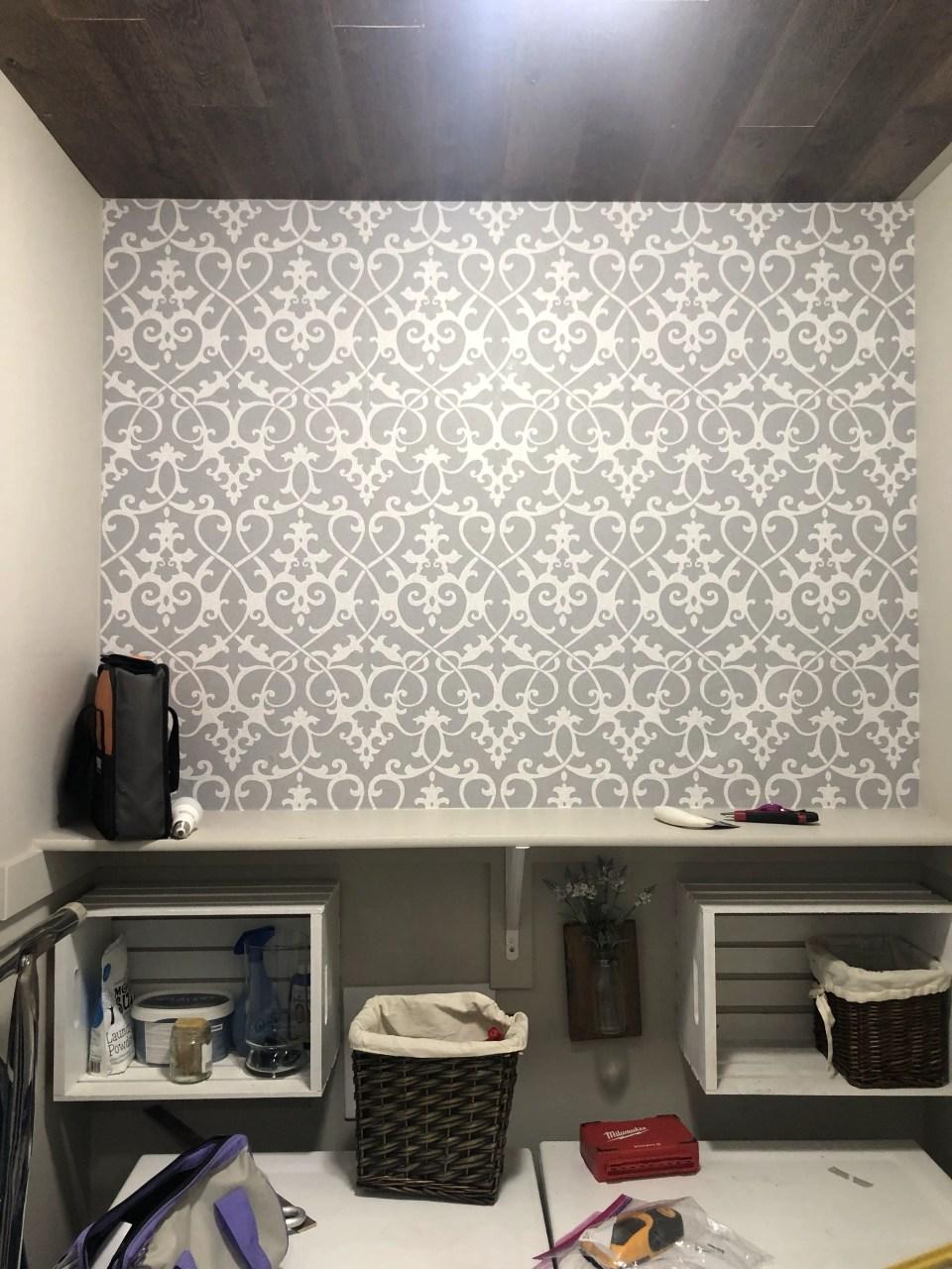 Roll Wallpaper Peel and Stick Removable Let it Snow Wallpaper DeLazurGoods Wall Art Woven Wallpaper