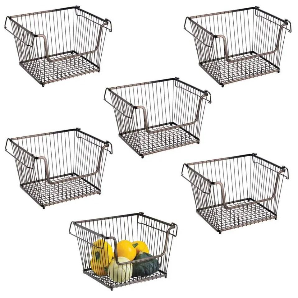 Modern Stackable Basket