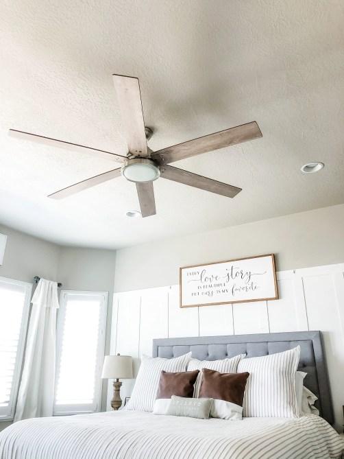 Hunter Ceiling Fan Master Bedroom