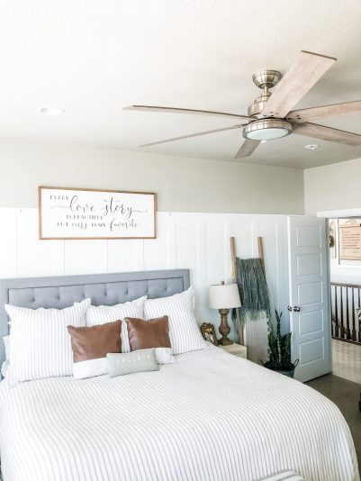 Hunter Ceiling Fan Master Bedroom