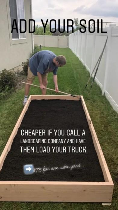 DIY Raised Garden Bed Boxes