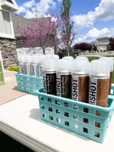 Brown Colorshot Spray Paint