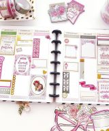 Metro Planner B6 Week 2 pages grid long box refill