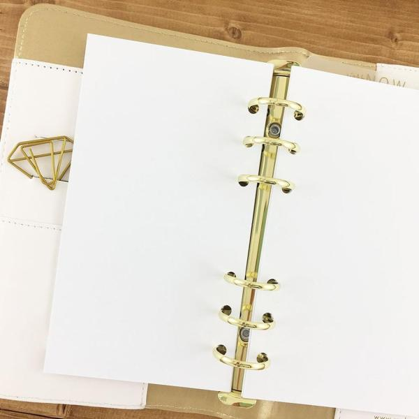 Blank Ringed Paper