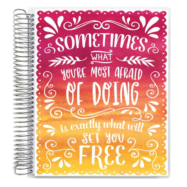 Sometimes what you're most afraid of doing is exactly what will set you free