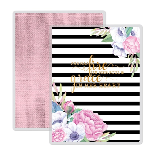 black and white stripes flowers floral
