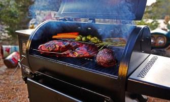 pit boss navigator 850 pellet grill okosgrill
