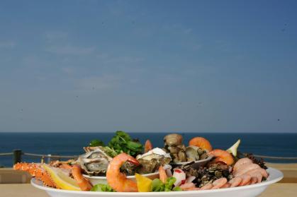 The gorgeous ocean view from Porto de Santa Maria