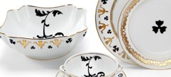 Vista Alegre manufactures collections created by prestigious international designers