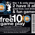 Dave and busters coupons enjoy the provide