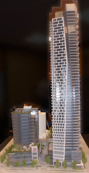 """Report of UDP meeting on """"Burrard Gateway"""" tower project (June 16, 2011) 