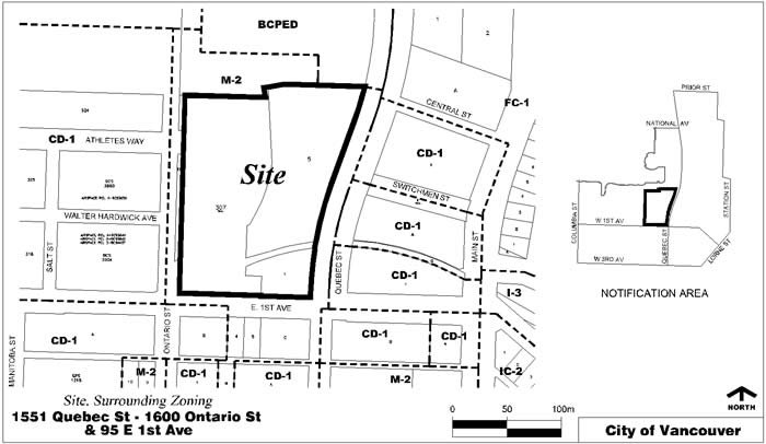 Large development coming to Quebec & 1st (18, 15, 15, 14