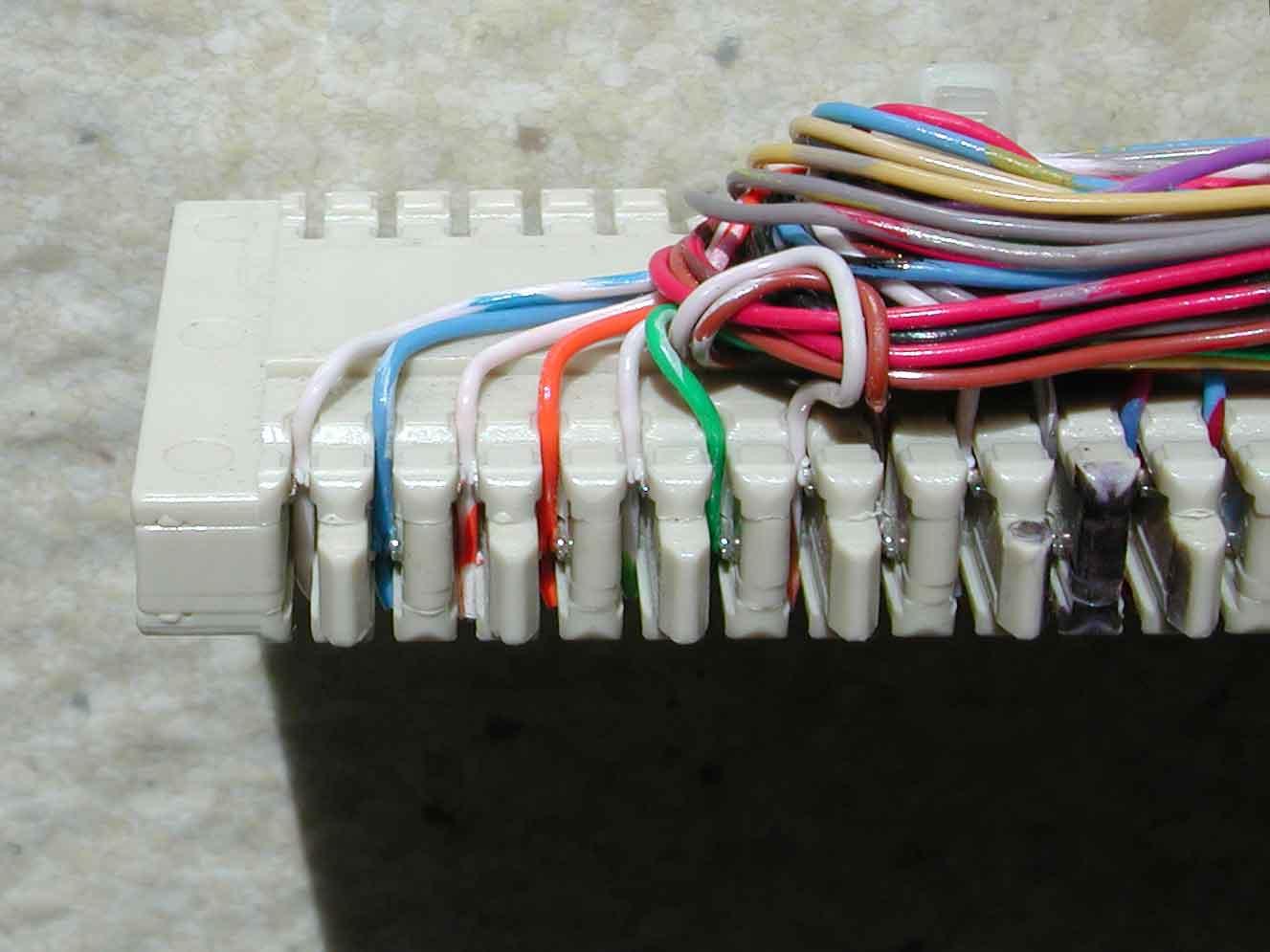 110 Punch Block Wiring Diagram Data Communications Equipment