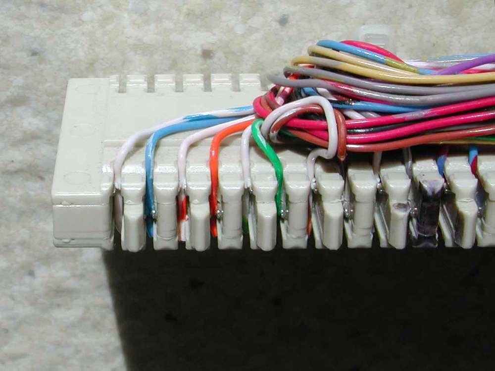 medium resolution of cros connect wiring diagram for 66 block