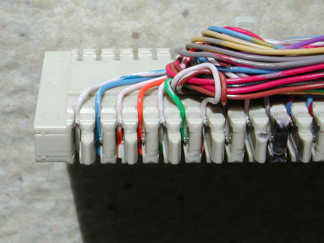 hight resolution of demarcation point wiring