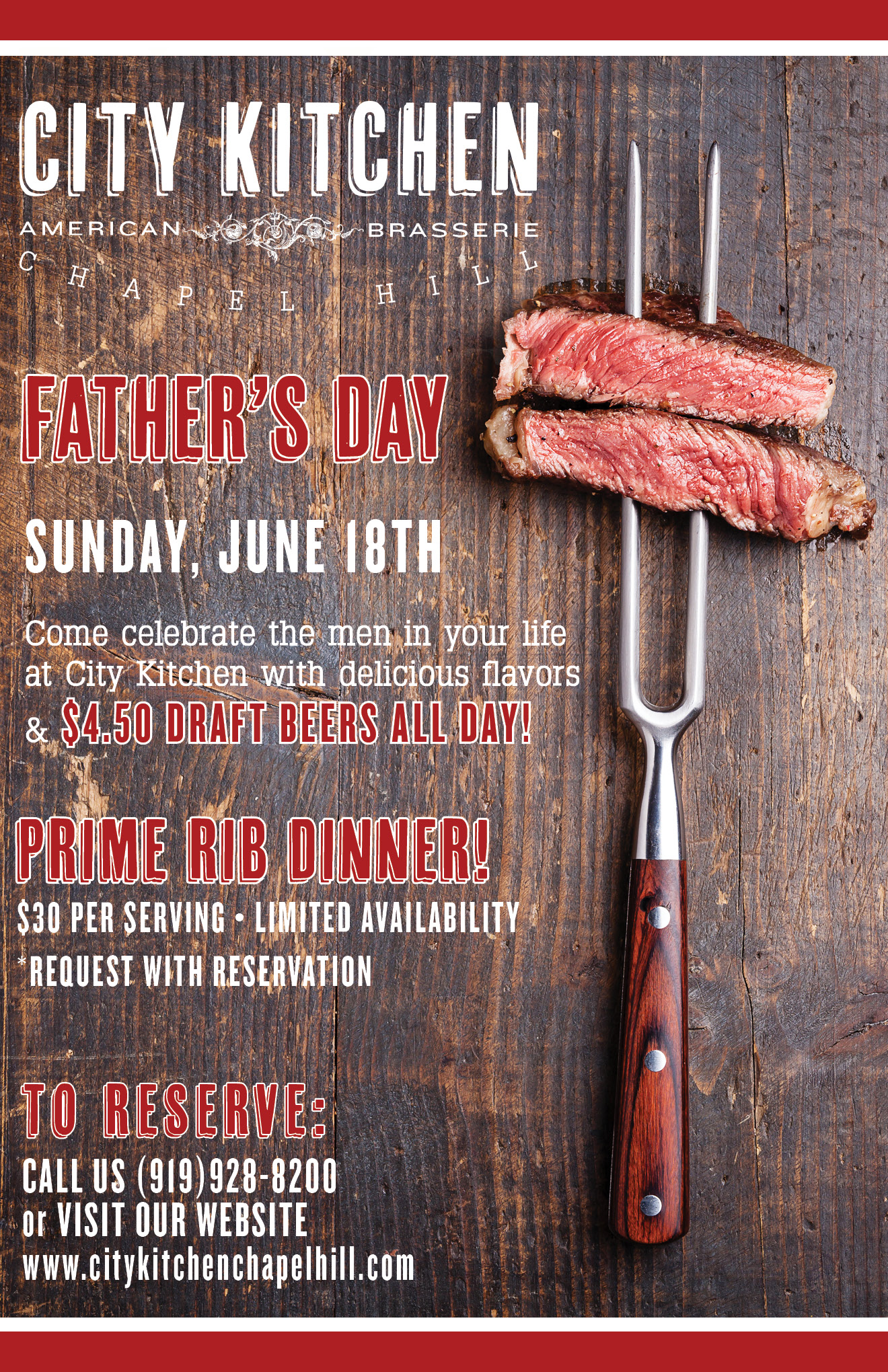 father s day dinner
