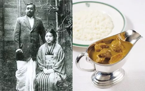 Indian style curry was introduced in Japan