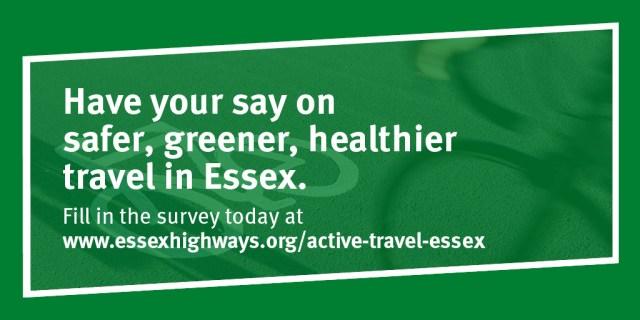 Have your safer, greener, healthier travel in Essex.