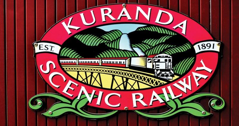 Kuranda Scenic Railway in Queenland Australia