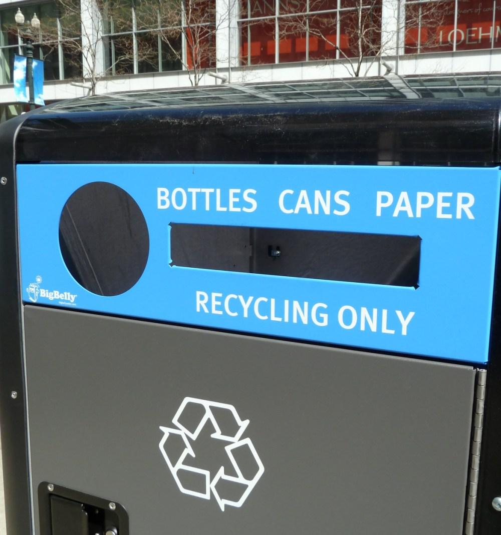 medium resolution of single stream recycling diagram