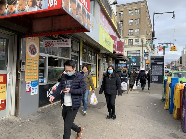 Coronavirus Fears Scaring Off Customers in Flushing, Business ...