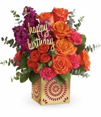 happy birthday flowers gifts