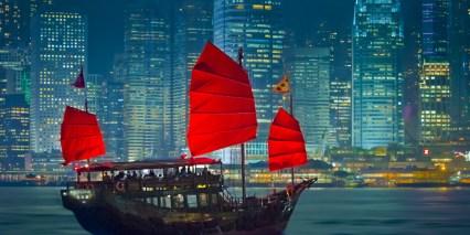 Hong Kong-Boat
