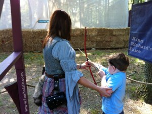 bow and arrow Henry