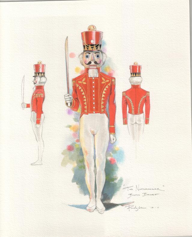 Illustrations by Robert Perdziola courtesy of Boston Ballet