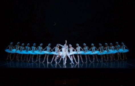 Misa Kuranaga and Jeffrey Crio along with the corps de ballet.  Photos by Rosalie O'Connor