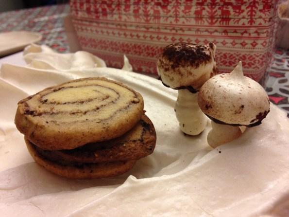 Spiced Yule Log Cookie Recipe