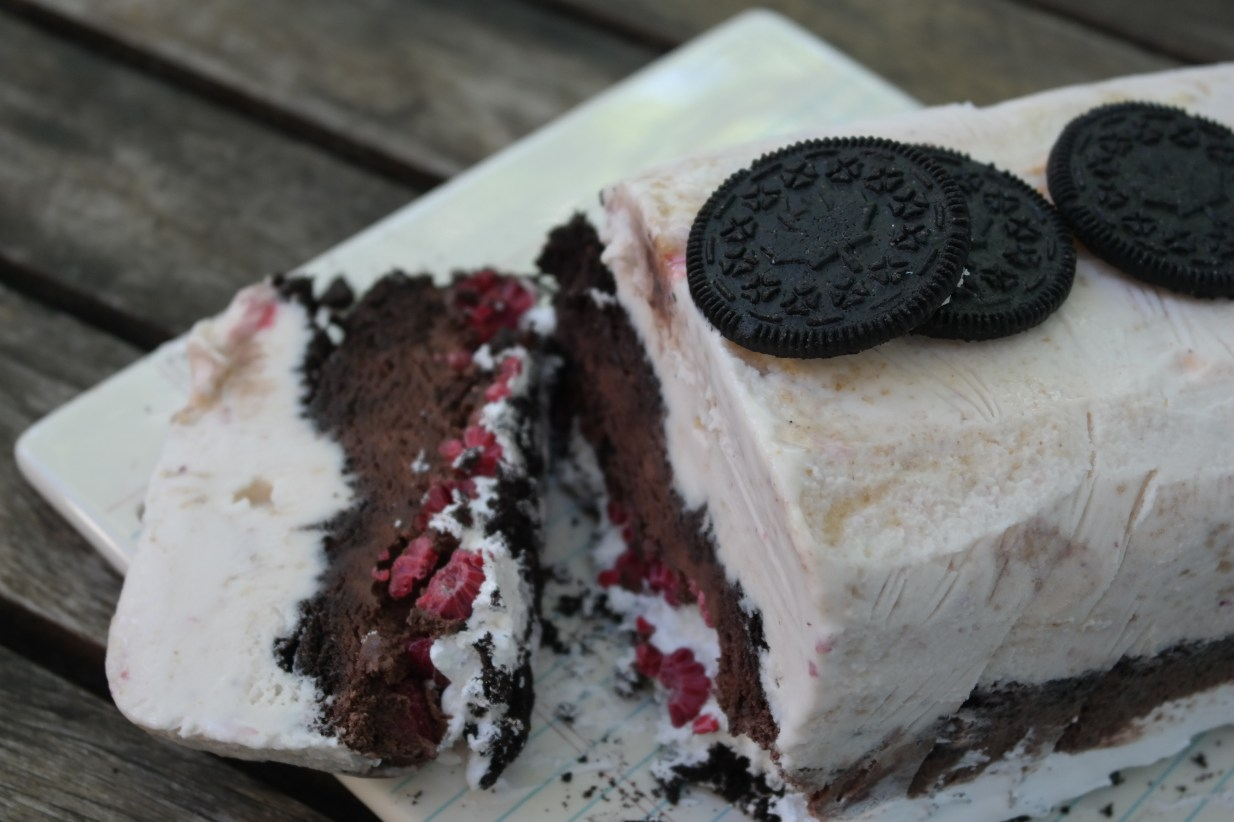 Screaming Labor Day Ice Cream Cake Recipe (Sponsored)