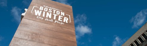 City Hall Plaza does Winter Right: Boston Winter Opens December 7th