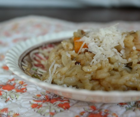 Leftovers From Thanksgiving: Risotto Freezer Meals