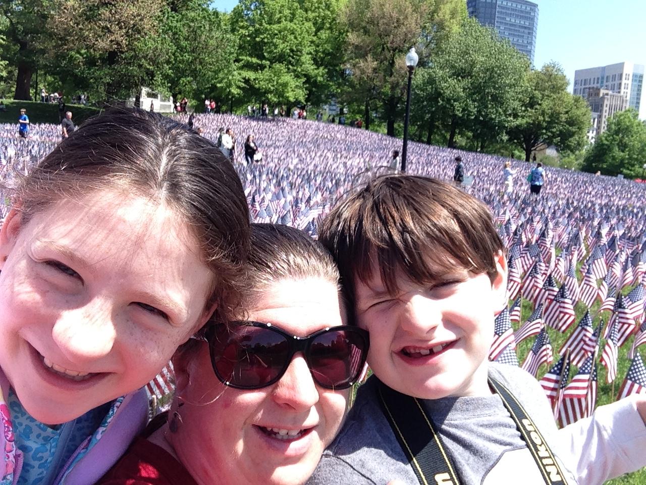 Memorial Day in Boston Common