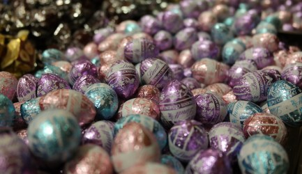 Lindt Store:  Easter Bunny Heaven