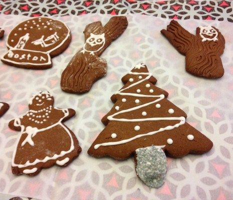 Cookie Decorating in North Cambridge:
