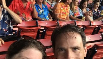 Red Sox Match Hawaiian Print: Margaritaville Night at Fenway