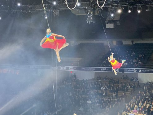 Spin on a New Axel with Cirque Du Soleil