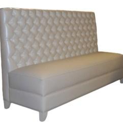 Button Tufted Sofas Hans Wegner Plank Sofa Nichols Banquette - City Living Design
