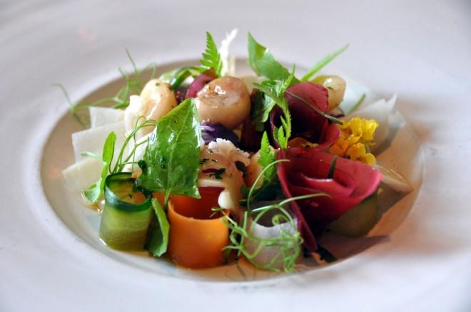 Hrana, ki vam jo pripravijo v restavraciji Noma.